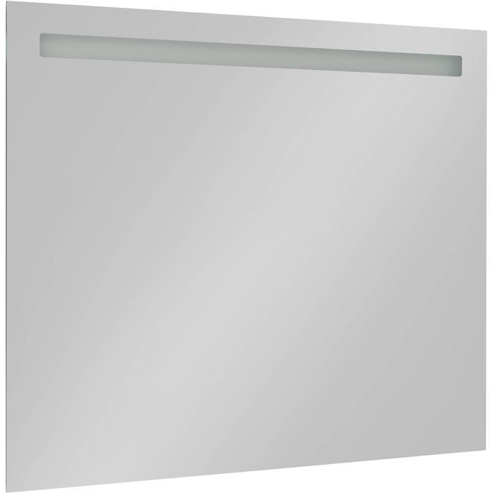Saqu Plain Spiegel met LED verlichting en stopcontact 100x80 cm