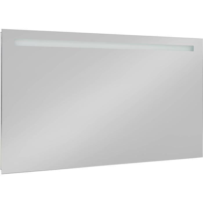 Saqu Plain Spiegel met LED verlichting en stopcontact 140x80 cm