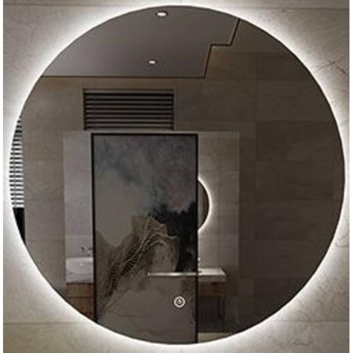 Saqu Spiegel met LED-verlichting Ø 100 cm