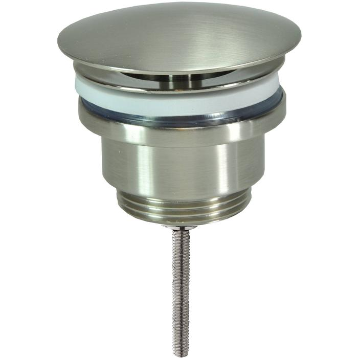 Saqu Waste niet afsluitbaar 5/4 inch RVS-look
