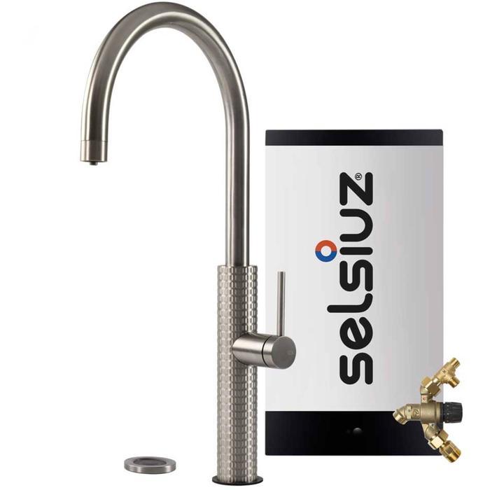 Selsiuz 3-in-1 Kokend-Water Kraan met Combi Extra Boiler Roestvrijstaal