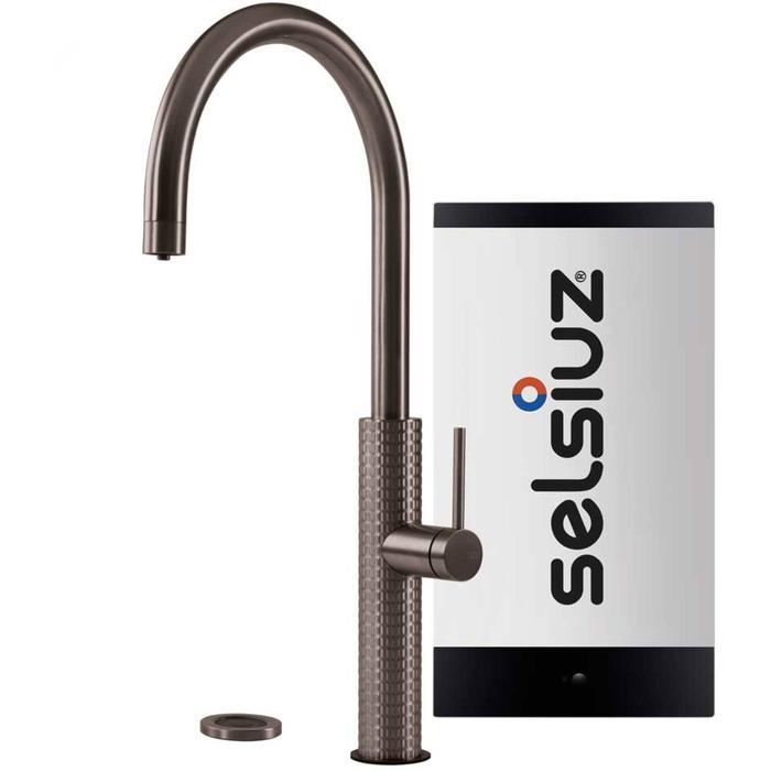 Selsiuz 3-in-1 Kokend-Water Kraan met Single Boiler Gun metal