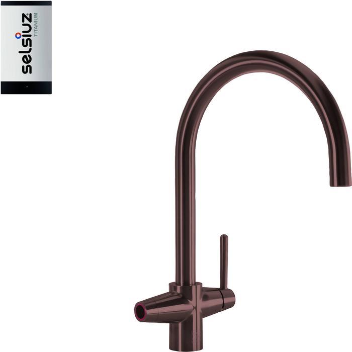 Selsiuz 3-in-1 Kokend-Water Kraan met Single Boiler Copper