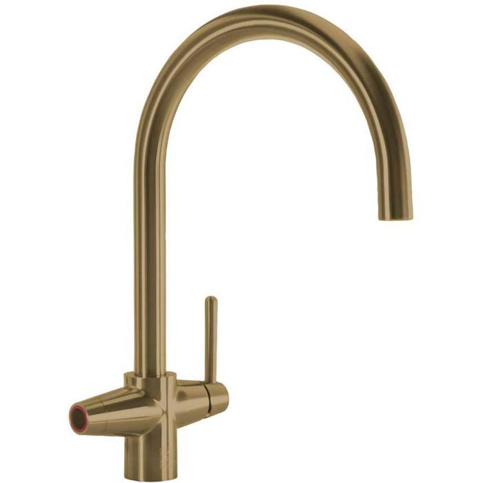 Selsiuz 3-in-1 Kokend-Water Kraan met Single Boiler Gold