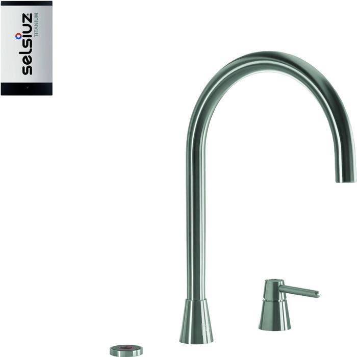 Selsiuz 3-in-1 Kokend-Water Kraan met Single Boiler Inox