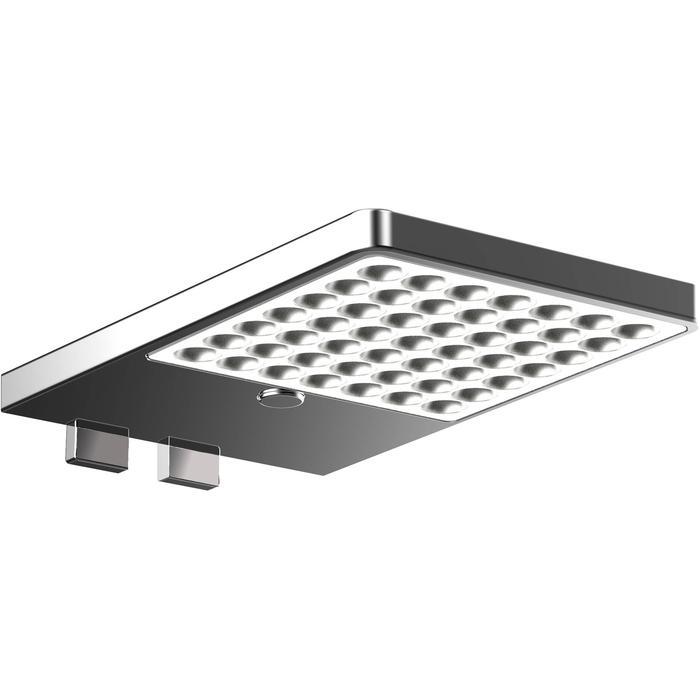 Emco System 2 LED Spiegelklemlamp Traploos Dimbaar Chroom