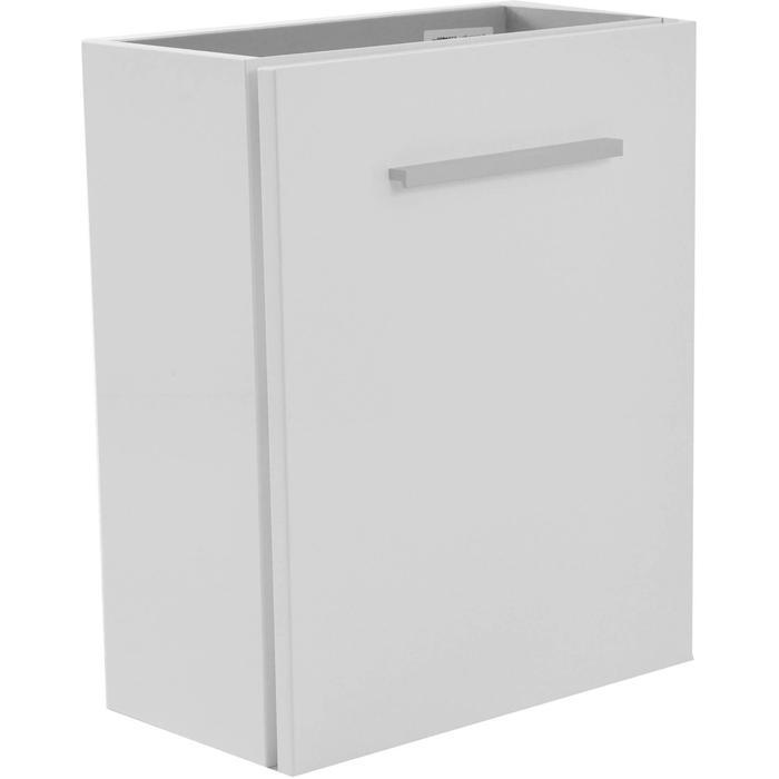 Saqu Wastafelonderkast 1 deur 40x21 cm Wit