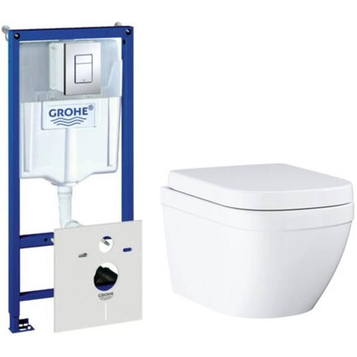 Grohe Euro complete toiletset met Rapid SL inbouwreservoir