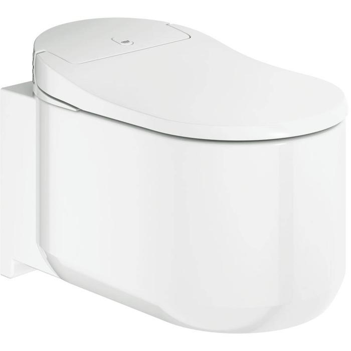 Grohe Sensia wandcloset douche wc systeem met SkinClean en Ceramic plus wit