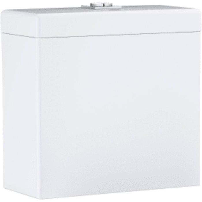 Grohe Cube Duoblokreservoir Opbouw met onderaansluiting 37x17x36,5 cm Keramiek Wit