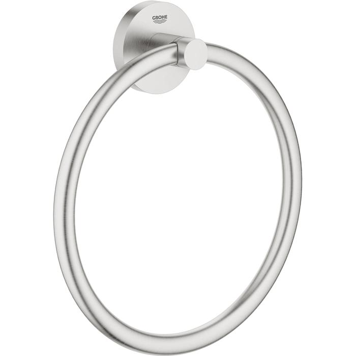 Grohe Essentials Handdoekring Supersteel