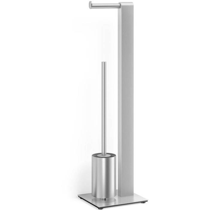 ZACK Atore Toiletbutler Geborsteld RVS