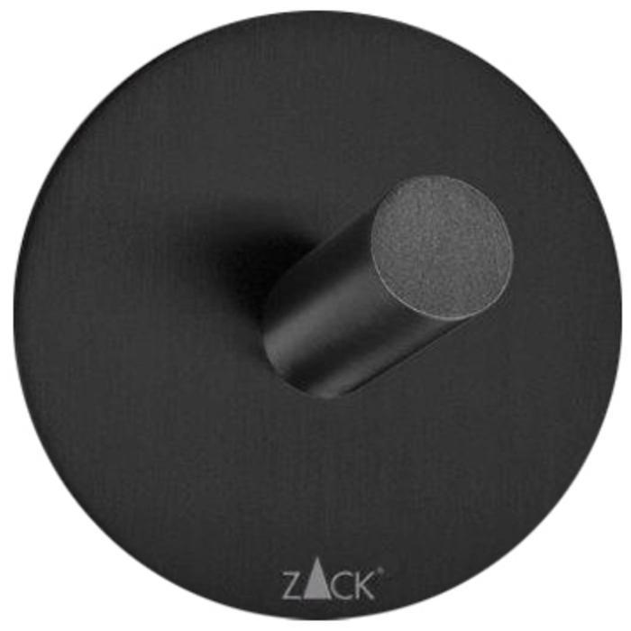 ZACK Duplo Handdoekhaak Rond ø 5,5 cm Zwart