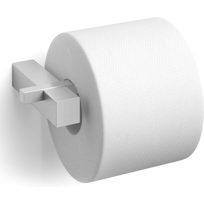 ZACK Carvo Toiletrolhouder 16,5x10x2,6 cm RVS Mat