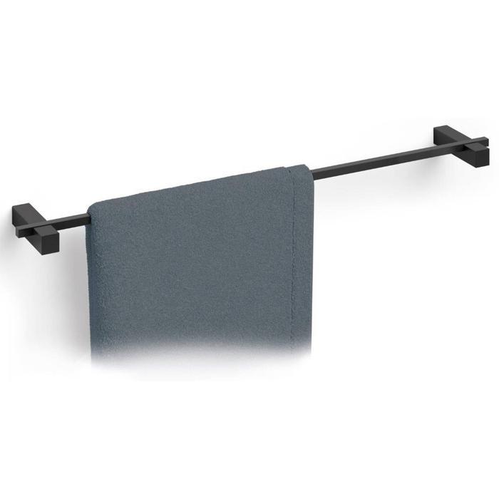 ZACK Carvo Handdoekstang 65,8x10x2,3 cm Zwart