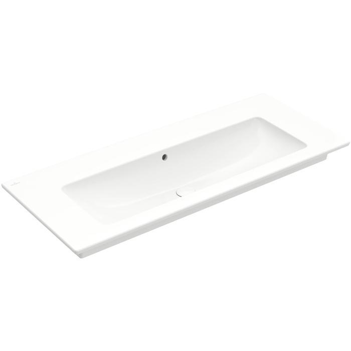 Villeroy & Boch Venticello meubelwastafel 120x50cm zonder kraangat met overloop wit