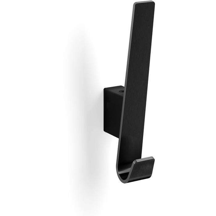 ZACK Akes Kledinghaak 2,5x5,6x16,1 cm Zwart