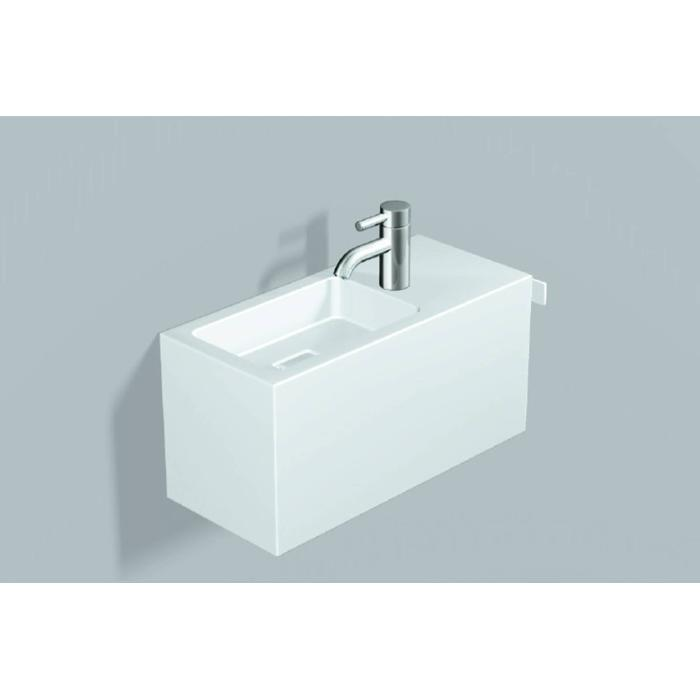Alape Xplore. S Fonteinmeubel Clean 64,5x26,8x30 cm Wit