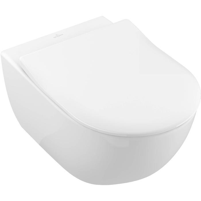 Villeroy & Boch Subway 2.0 combipack toiletset Slimseat DirectFlush CeramicPlus Wit