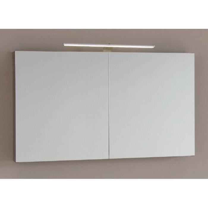 Line 45 Spiegelkast 100x13,5x60 cm excl. Verlichting Nebraska Eiken