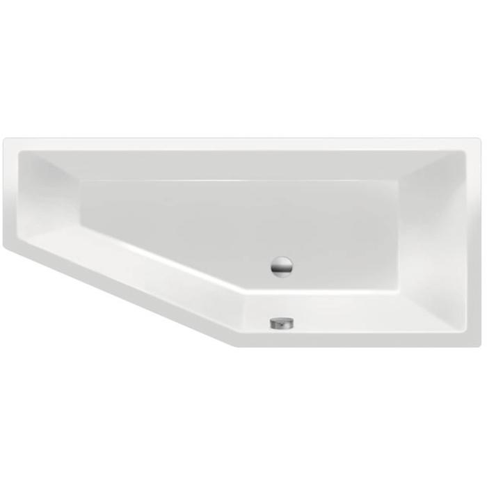 Xenz Society Compact Bad 170x75 cm Edelweiss