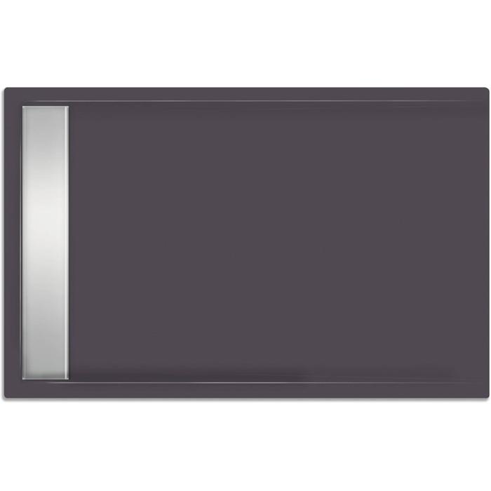 Xenz Easy Tray Douchebak 110x90x5 cm Antraciet