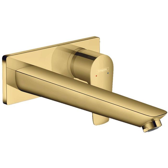 Hansgrohe Talis E Wastafelmengkraan EcoSmart Afbouwdeel Polished Gold Optic