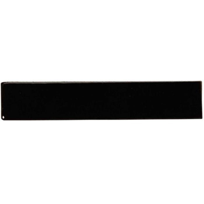 Listello Terre d'Azur Faro 14x2,5x0,8 cm Zwart 1ST