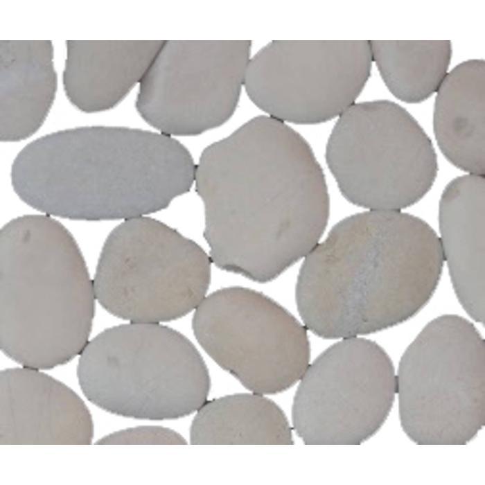 Vloertegel Terre d'Azur Stone 30x30x1,2 cm Wit 1M2