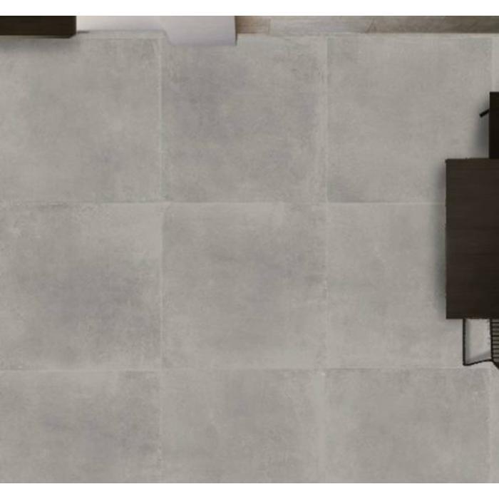 Vloertegel CTC Beton 90x90 cm Licht Grijs 1,62 M2