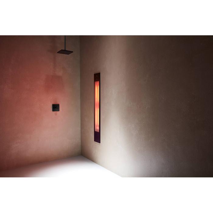 Sunshower Pure XL inbouw infrarood zwart
