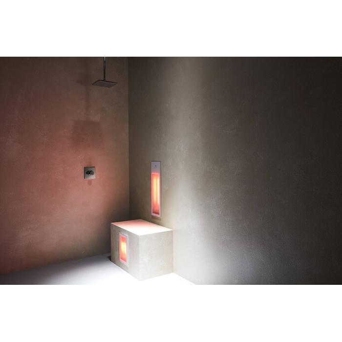 Sunshower Pure Duo inbouw infrarood wit