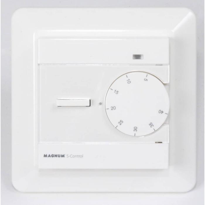 Magnum s-control aan-uit thermostaat msc met vloersensor