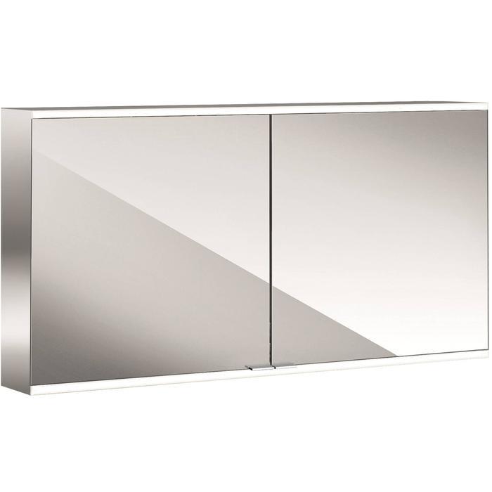 Emco Prime 2 LED Spiegelkast 2 deuren 130x60 cm