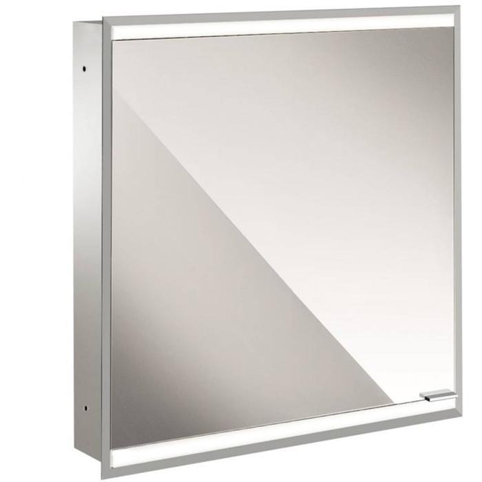 Emco Prime 2 LED Spiegelkast 1 deur links inbouw 60x70 cm