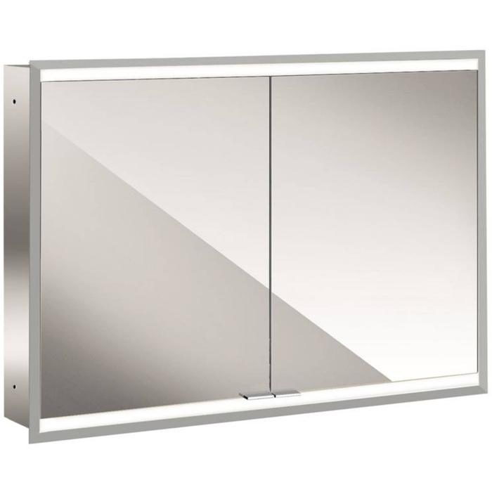 Emco Prime 2 LED Spiegelkast 2 deuren inbouw 100x70 cm