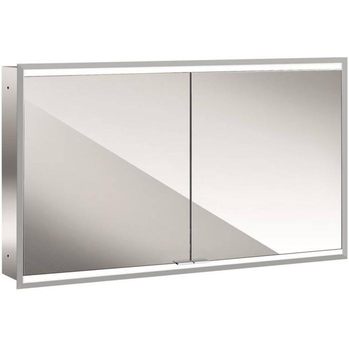 Emco Prime 2 LED Spiegelkast 2 deuren inbouw 120x70 cm