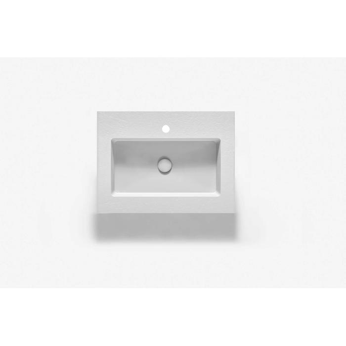 Ben Avira A1 wastafel Akron 60,3x45x1,3cm blanco (wit)