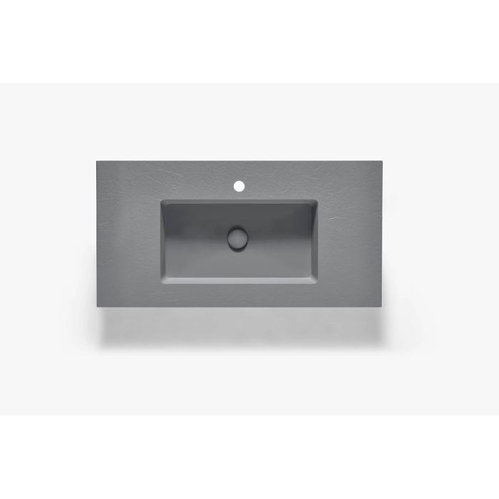 Ben Avira A1 wastafel Akron 80,3x45x1,3cm cemento (cement grijs)