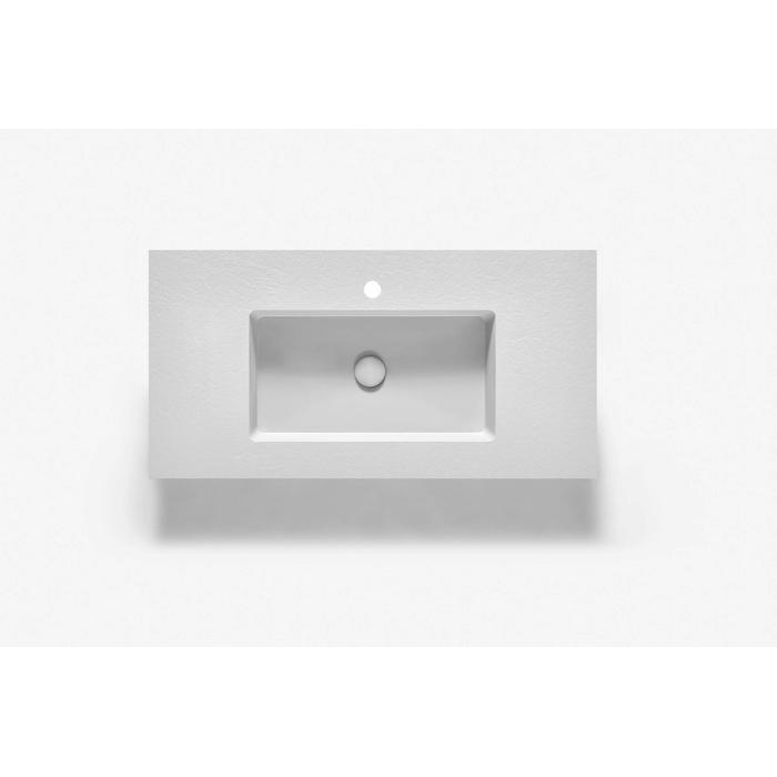 Ben Avira A1 wastafel Akron 80,3x45x1,3cm blanco (wit)