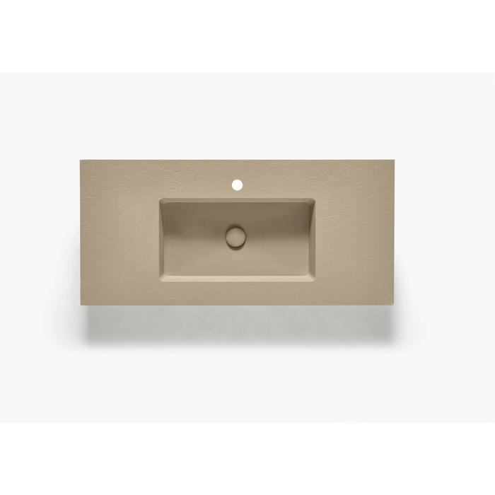 Ben Avira A1 wastafel Akron 100,3x45x1,3cm beige