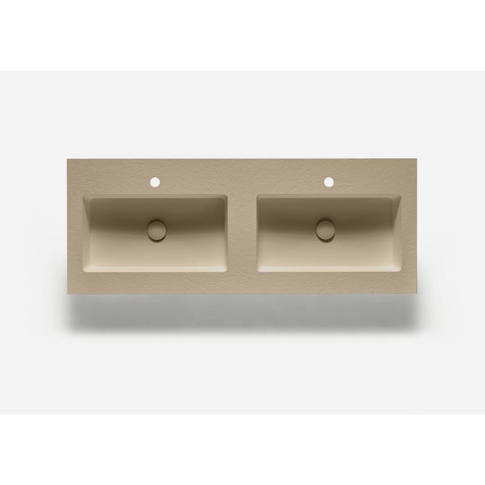 Ben Avira A1 wastafel Akron 120,3x45x1,3cm beige