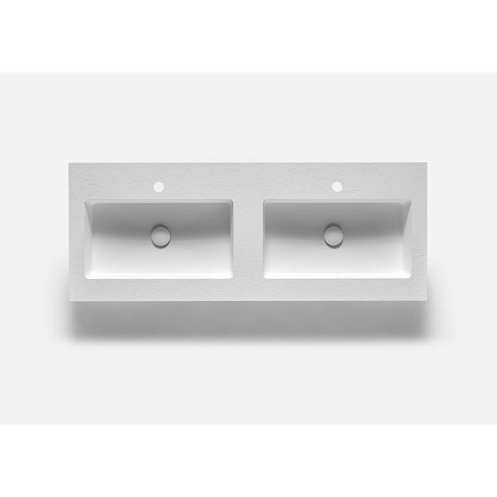 Ben Avira A1 wastafel Akron 120,3x45x1,3cm blanco (wit)