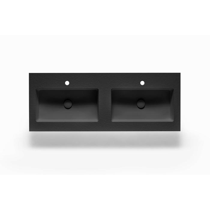 Ben Avira A1 wastafel Akron 120,3x45x1,3cm negro (zwart)