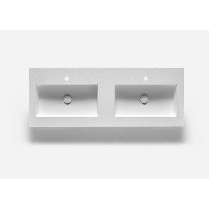 Ben Avira A1 wastafel Akron 140,3x45x1,3cm blanco (wit)