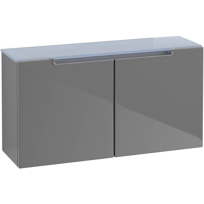 Villeroy & Boch Subway 2 0 Sideboard 75,8x23,5x40 cm Glossy Grey