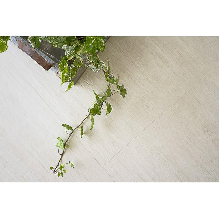 Vloertegel Terratinta Archgres 10x10x0,95 cm Light Beige Slate 0,5M2