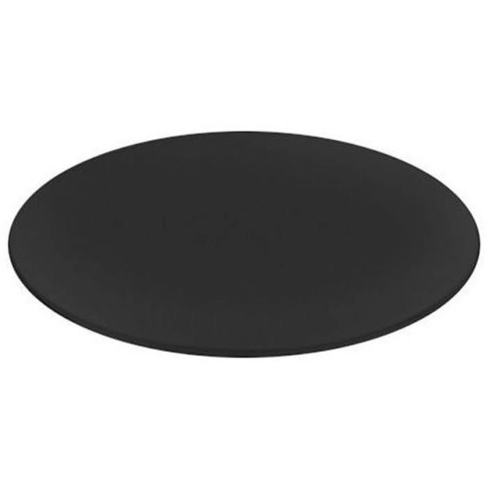 Riho Pop-up Solid Cover Ø7,8x1,5 cm Zwart