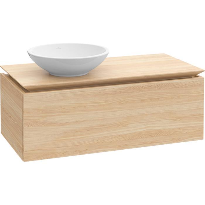 Villeroy & Boch Legato Wastafelonderkast 100x50x38  cm Santana Oak
