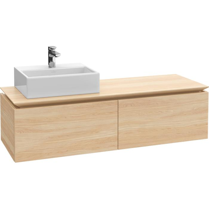 Villeroy & Boch Legato Wastafelonderkast 140x50x38  cm Santana Oak